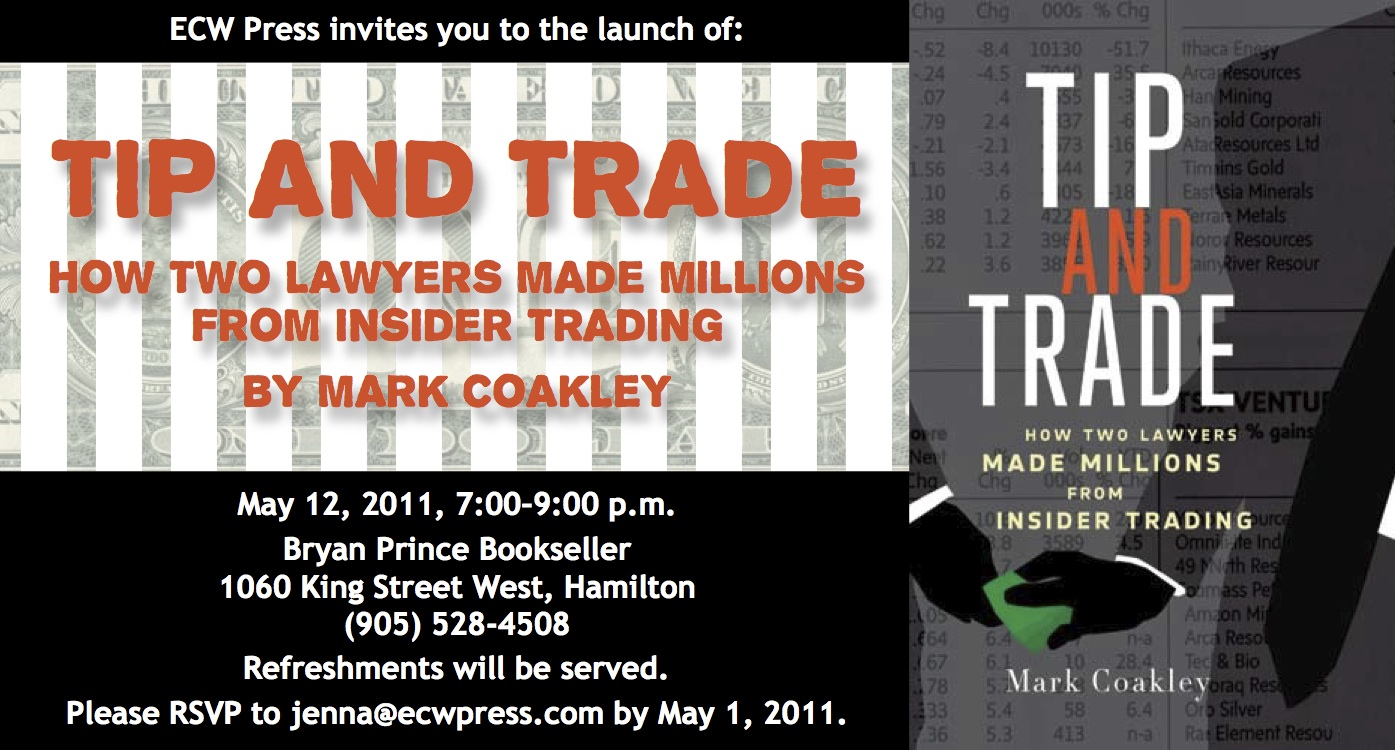 book launch tip and trade how two lawyers made millions from