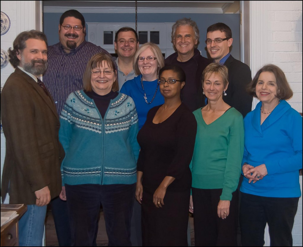 Group photo fo the AWWCA Board of Directors - 2011/2012