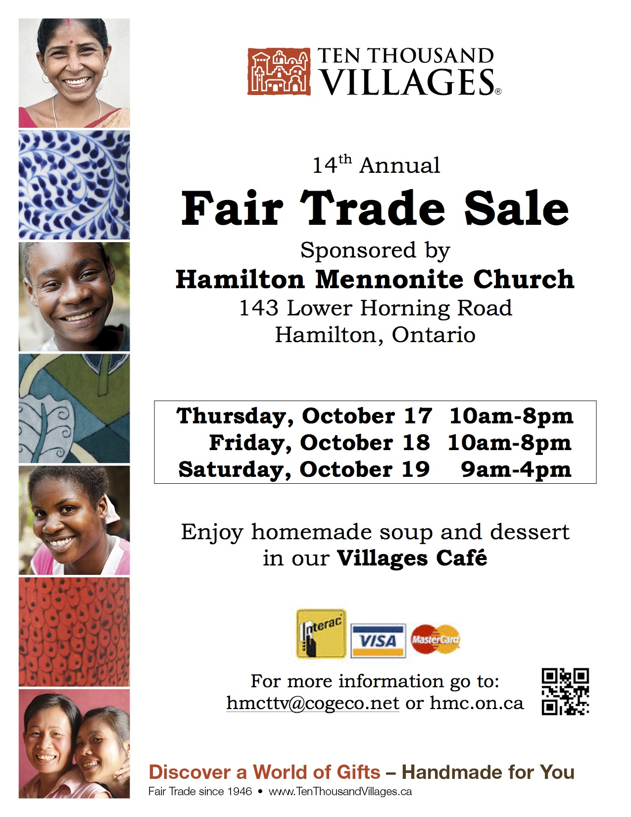 Ten Thousand Villages Fair Trade Sale | A W W C A